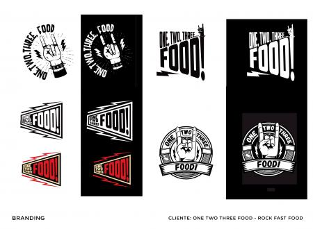 Selección logos 123 food!
