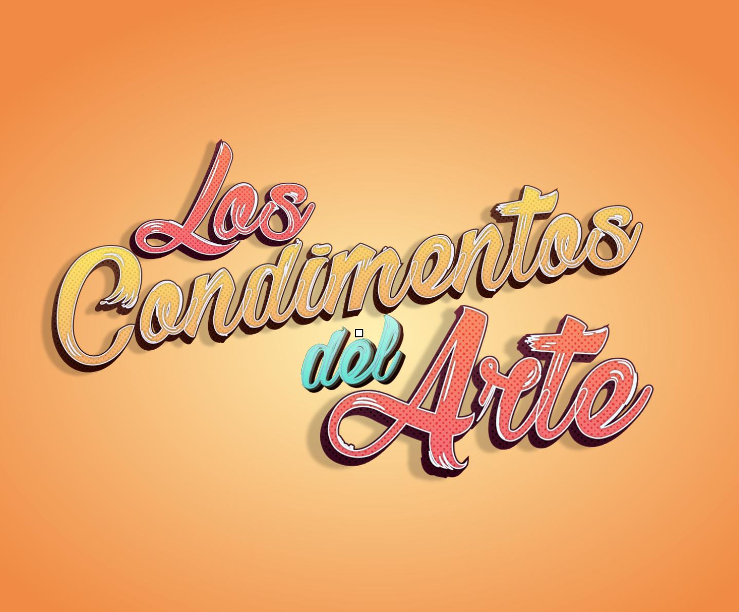 Diseño Logo - Los Condimentos del Arte