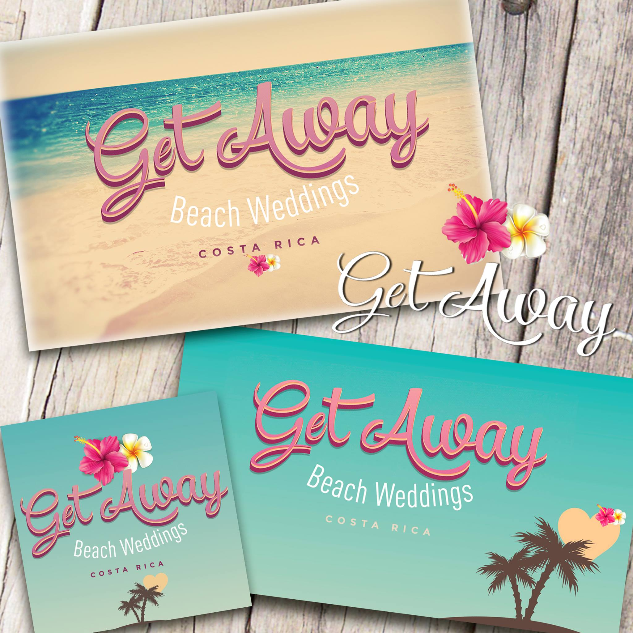Branding - Get Away Beach Weddings