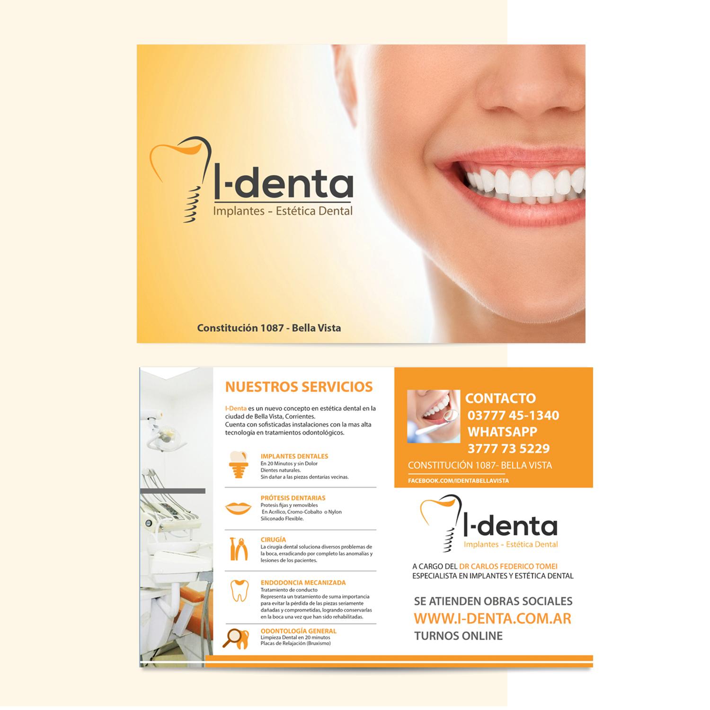I-Denta - Diseño Marca